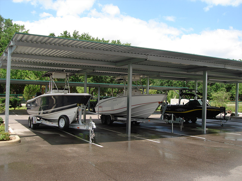 Rapid Building Solutions Provides Industry Leading RV Storage Canopy And Boat  Storage Canopy Structures Designed To Accommodate Nearly Any RV Or Boat.