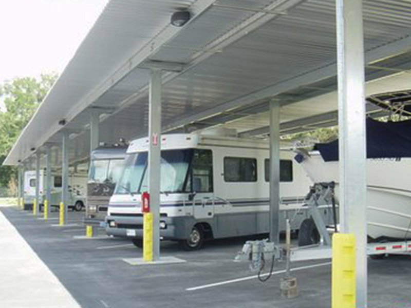 Rapid Building Solutions provides industry-leading RV storage canopy and boat storage canopy structures designed to accommodate nearly any RV or boat. & RV And Boat Storage Canopy - Rapid Building Solutions