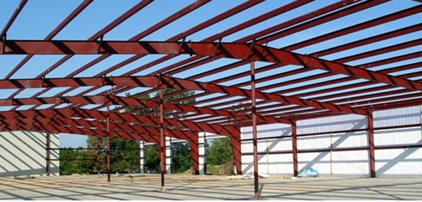 Rigid Frame Building : Pre engineered metal buildings and storage unit construction