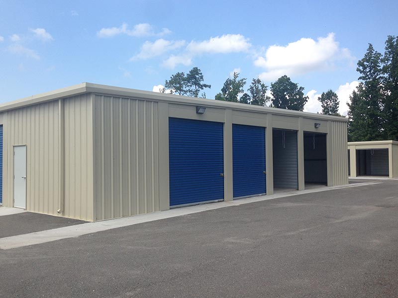 As our most popular metal building unit design our one-story storage buildings are known for their flexible and secure construction. & One-Story Storage Buildings - Rapid Building Solutions