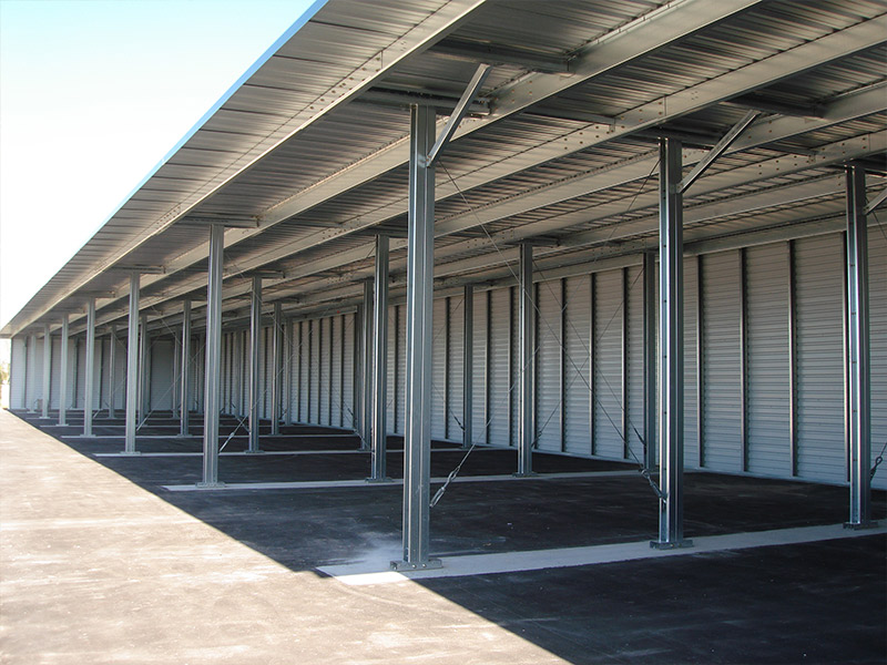 RV And Boat Storage Canopy - Rapid Building Solutions
